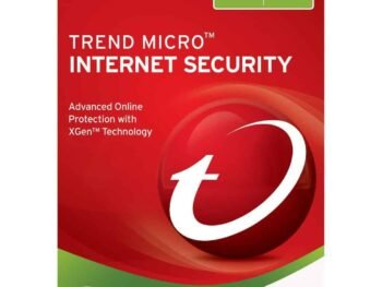 TREND MICRO Internet Security 3 PCs | 1 Year - Digital Licence