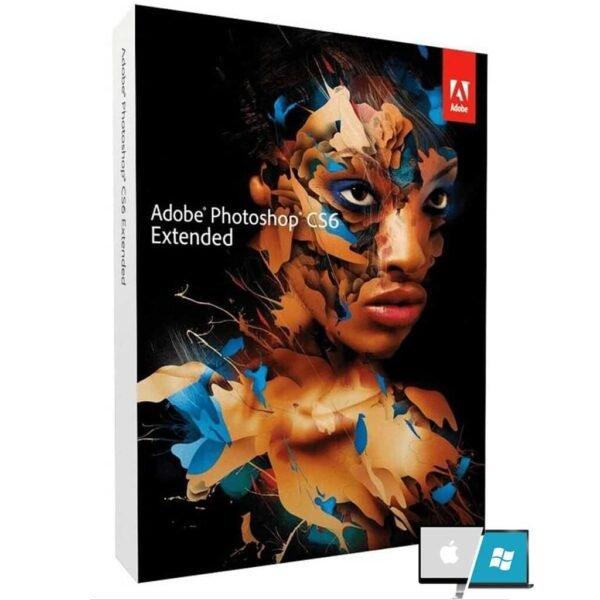 Adobe Photoshop CS6 Extended (Perpetual License) - Mac   Windows