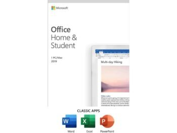 Microsoft Office Home & Student 2019 for Win/Mac | Perpetual software license, 1 user